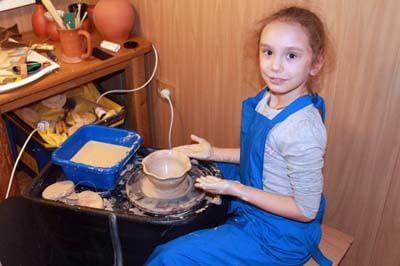 Детский гончарный круг электрический купить